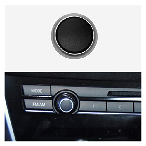 furong Ajuste para BMW F10 F18 F07 F01 F02 F15 F16 F16 Series Series Radio Interruptor de Radio Tapa Cubierta CD Máquina Interruptor Botón 2010-2017