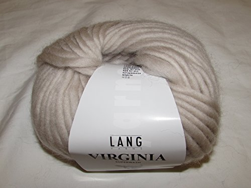 Lang Yarns Virginia freie Farbwahl Wolle reine Schurwolle (22 - Beige)