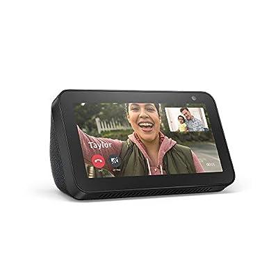 Echo Show 5 – Compact smart display with Alexa - Charcoal by Amazon