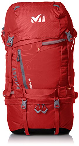 MILLET Ubic 40, Unisex-Erwachsene Rucksack, Rot (Deep Red), 15x24x45 cm (W x H x L)