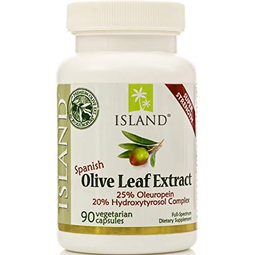 Real European Olive Leaf Extract - 25% Oleuropein, Plus 20%...