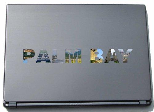 Palm Bay portátil adhesivo Skin para portátil 210mm con lugares de interés
