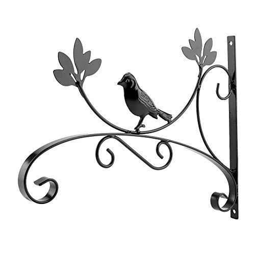 Nunafey 13.8 * 10.8in Bird Pattern Hanging Plant Bracket, Haken Plant Hanger, zum Aufhängen von Blumentöpfen Hanging Plant Basket Hanging Bird Feeder Hanging Wind Chimes