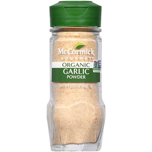 McCormick Gourmet Organic Garlic Powder, 2.25 oz
