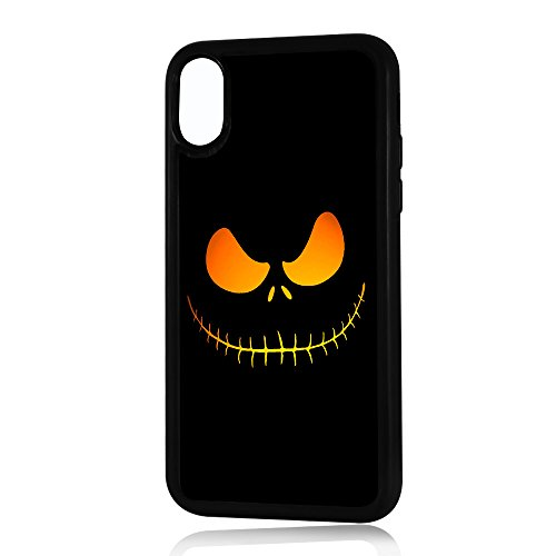(for iPhone Xs MAX) Durable Protective Soft Back Case Phone Cover - HOT10040 Nightmare Before Christmas 10040