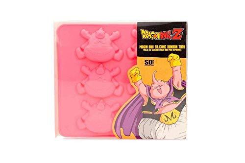 DRAGON BALL Four Majin Buu Silicone Baking Tray Officiel Merchandising Ronds - Moules à Tarte et Biscuits Repose Unisexe Adulte Ne s'applique pas