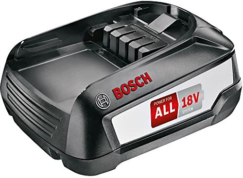 Bosch Wechselakku Power for ALL 18V 3.0Ah BHZUB1830, geeignet für kabellosen Akku-Staubsauger Unlimited, lange Laufzeit, kompatibel mit AL1810 CV, AL1815 CV, AL1830 CV, AL1880 CV, schwarz