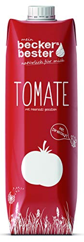Tomatensaft mit Meersalz