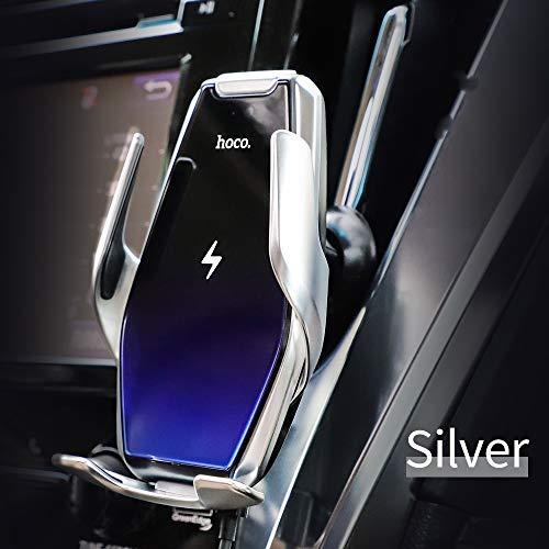 puissant Hoco.  Chargeur de voiture sans fil, support à induction sans fil à chargement rapide automatique 15 WQI…