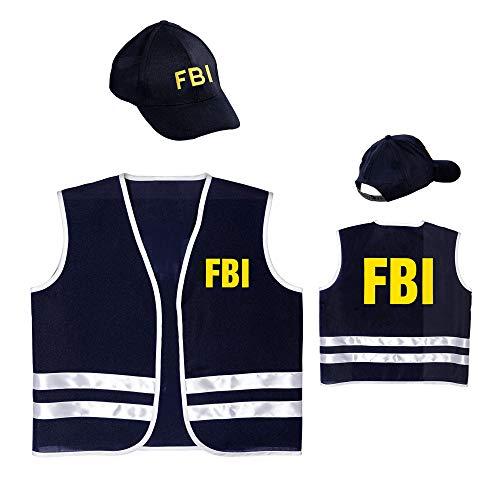 Dress Up America Fai finta di giocare a Polizia Hat per adulti