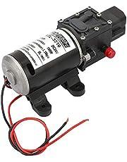 Bomba de Diafragma Autocebante 24V 100W Bomba de Agua de Diafragma Eléctrica de Alta Presión con Interruptor de Presión