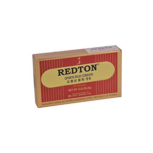 Abamed Farma Redton - Ginseng Rojo Coreano, 30 Cápsulas
