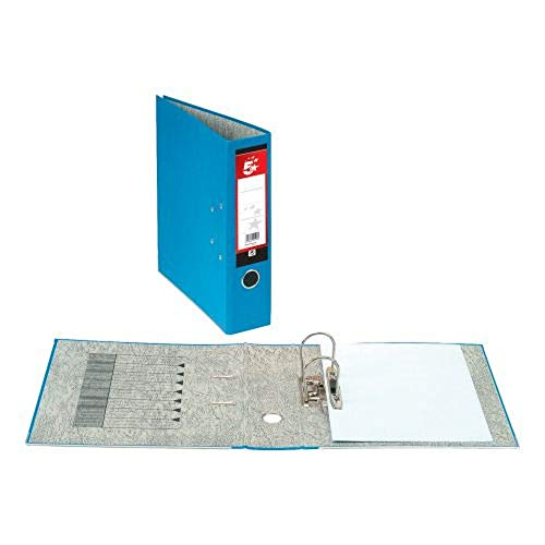 5 Star Lever Arch File 70mm Spine A4 Blue [Pack 10]