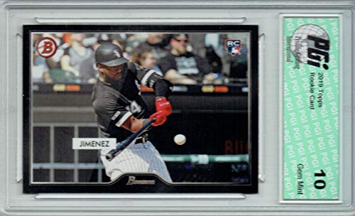 Eloy Jimenez 2019 Topps #2 55 Bowman SP 2500 Made Rookie Card PGI 10