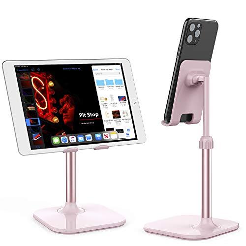 Doboli - Soporte para teléfono móvil, compatible con iPhone y todos los teléfonos móviles, color rosa