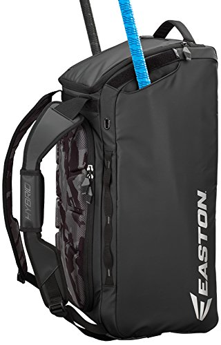 Easton Hybrid Backpack/Duffle Bag, Black