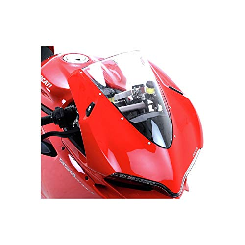 Kit 4pz R/&G Racing 5055780395643 adesivi antiscivolo serbatoio neri DUCATI 848//1098//1198//Streetfighter 09//14