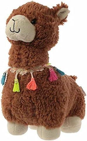 Puckator Llama Door Stop-Brown Super Wi Ranking TOP12 Height Cute 38cm Regular dealer Fluffy