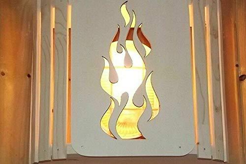 Holz-Sauna-Lampenschirm