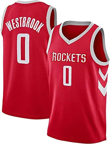 CHSSC Camiseta de baloncesto para hombre, diseño de Houston Rockets, camiseta de baloncesto para verano, camiseta de uniforme de baloncesto, camiseta unisex, D - XXL