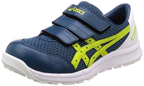 [アシックス] ワーキング 安全靴/作業靴 ウィンジョブ CP202 JSAA A種先芯 耐滑ソール αGEL搭載 インクブルー/ライム 27.5