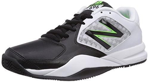 New Balance MC696 D V2, Scarpe da Tennis Uomo, Nero (Schwarz (GB2 Black/Green)), 42.5