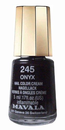 Petit modèle de couleur MAVALA alliage de chrome et vanadium et pierres d'onyx 245 – 5 ml