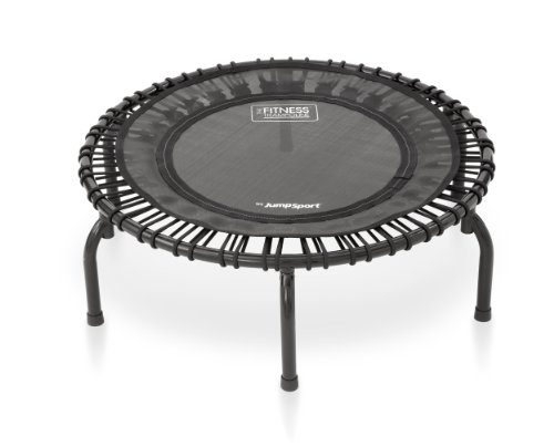 JumpSport 220 Fitness Trampoline | Safe & Stable Non-Tipping Arched Legs | Large Surface| Smooth...