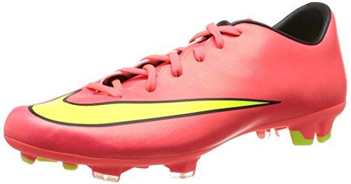 Nike Mercurial Victory V Fg 651632 Herren Fußballschuhe Training, Pink (HYPR PUNCH/MTLC GLD CN-BLK-VLT 690), 44 EU / 10 US