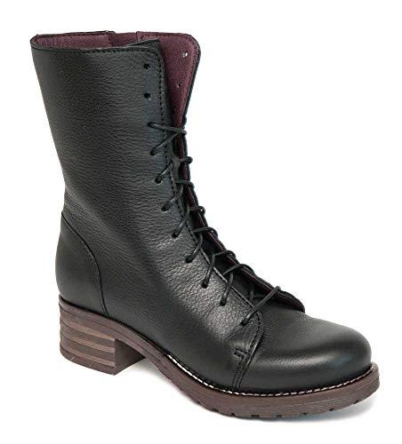 Brako Stiefel Boots 8470 Planet Negro Military schwarz Leder (43 EU)