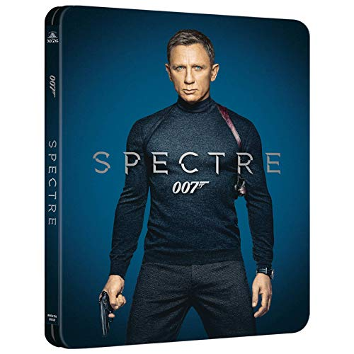 Spectre 4K, James Bond Spectre 4K Steelbook, Zavvi exklusive mit deutschen Ton auf 4K UHD-Blu-ray + Bllu-ray ohne deutschen Ton, Uncut, Regionfree,