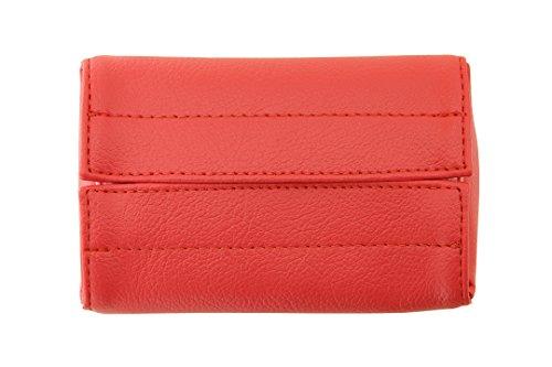 TEES FACTORY 国産 PVC レザー ポケット ティッシュ ケース JECY_mini ピンク