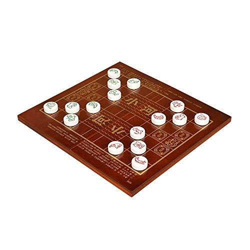 AJH Colosseum Schach Tier Tier Schach Grundschule Generation 2 Großes faltbares Holzpuzzle Schach