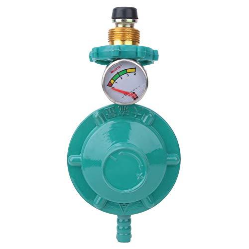 Solsken ansikte gasbehållare tryckregulator med mätare, hushåll vätskedriven gastryckreduktionsventil