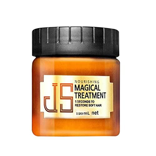 Acondicionador profundo, Crema acondicionadora para el cabello Crema de tratamiento profundo dañado, Tratamiento mágico Hidratante para el cabello para reparar el cabello dañado, raíces del cuero cabe