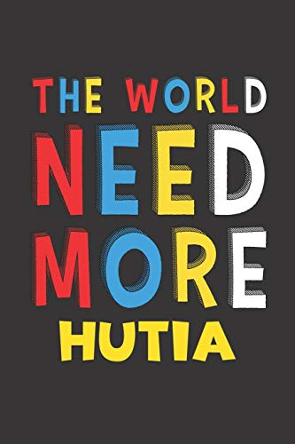 The World Need More Hutia: Hutia Lovers Funny Gifts Journal Lined Notebook 6x9 120 Pages