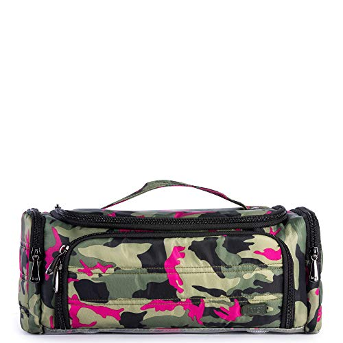 Lug Women's Trolley Cosmetic Case, CAMO ORCHID, One Size