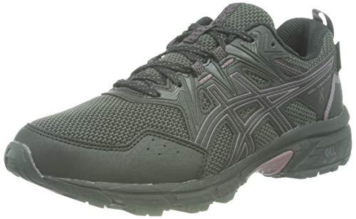 Asics Gel-Venture 8 Waterproof, Trail Running Shoe Mujer, Black/Grape, 36 EU