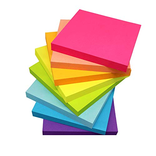 (8 Pack) Sticky Notes 3x3 Inches...