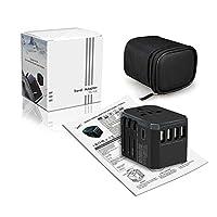 Travel Adapter Socket Fast Charge Type-C Converter Plug Global Universal Switch Plug Travel Multi-function Conversion Socket
