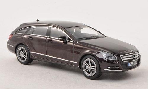 bester der welt Mercedes CLS Klasse Schießbremse (X218), Meet-DKL.-Brown, 2012, Automodell, fertiges Modell,… 2021