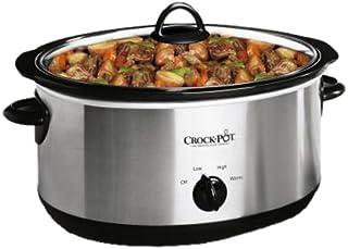 Crock-Pot 64451LD-C 6-1/2-クォート スロークッキング 小さなディッパー付き 低速調理器具 ステンレススチール