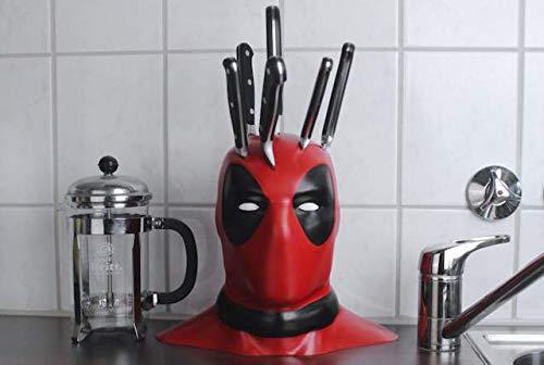 Deadpool Knife Block/Dead Pool/Marvel Gift/Knife Holder
