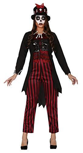 FIESTAS GUIRCA Disfraz de Bruja vudú chamán para Mujer Disfraz de Terror
