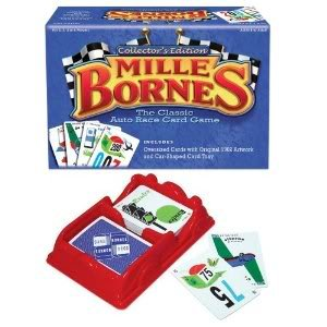 4KIDS Toy / Game Mille Bornes Collectors Edition W/ Oversized Rules Booklet and Score Sheets for Ages 8 Years amp Up