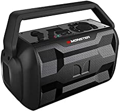 Monster Nomad | Portable Indoor/Outdoor Bluetooth and NFC Speaker, 30 Watts of Powerful..
