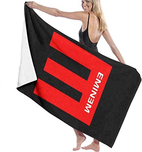 BAOYUAN0 GrandeAsciugamano da bagno Asciugamani da bagno Eminem Asciugamani da bagno super assorbenti per la spiaggia della palestra miglior regalo Spa 80*130CM
