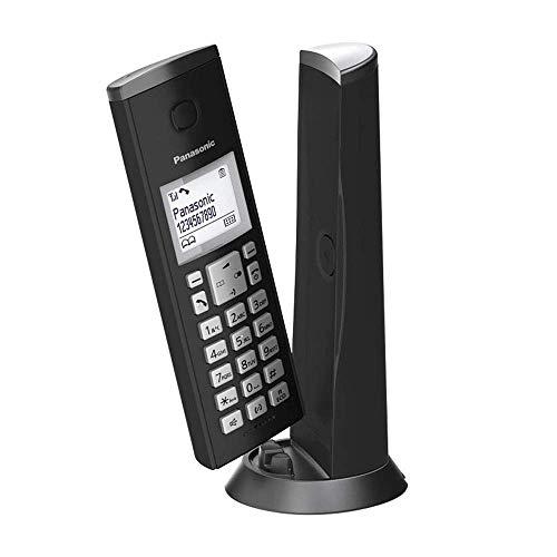 Panasonic KX-TGK310 - Teléfono (DECT, Altavoz, 120 entradas, Identificador de Llamadas, Identificador...