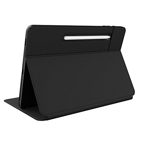 Speck Products Presidio Pro Folio Samsung Galaxy Tab S7+ Case, Black/Black (138614-1050)