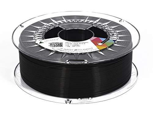 Smartfil ABS, 1.75mm, True Black, 750g Filamento para Impresión 3D de Smart Materials 3D